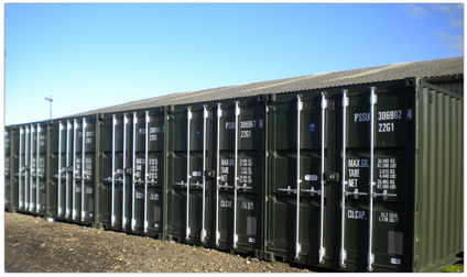 Self Storage Containers from Boston Self Storage Lincs